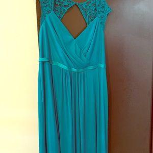 David' Bridal, bridesmaid dress size 16